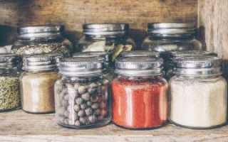 Как хранить приправы и специи: сроки и идеи для создания своими руками