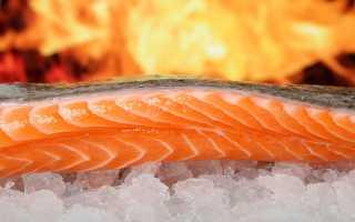 Не испортится ли красная рыба, если ее заморозить?