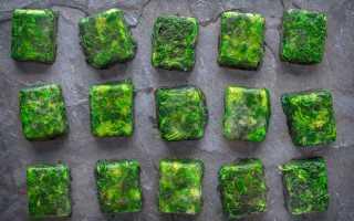 Способы заморозки зелени на зиму – необычные рецепты