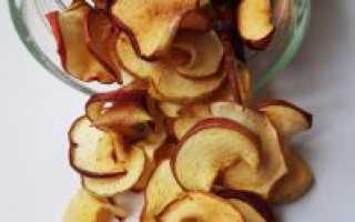 Чек-лист по сушению яблок в духовке – температура, время, условия