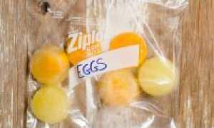 Можно ли замораживать яйца и есть замороженные яйца