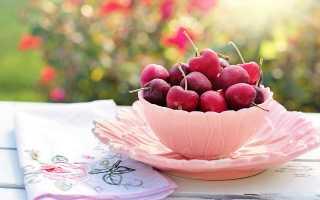 Рецепты и правила заморозки черешни на зиму