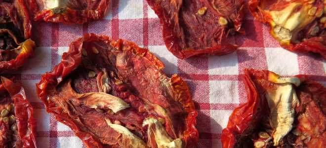 Секреты заготовки вяленых и сушеных томатов от шеф-мастеров