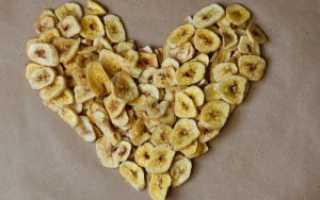 Как сделать вяленые бананы в домашних условиях – простые рецепты