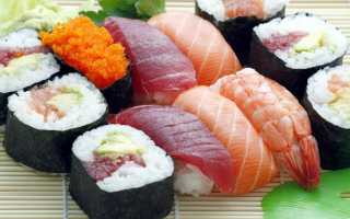 Срок хранения суши и роллов в холодильнике