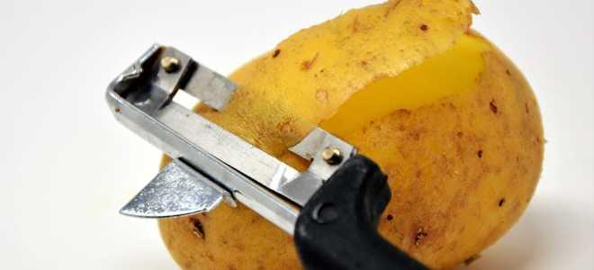 Как хранить очищенную картошку