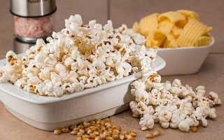 Как высушить попкорн из свежей кукурузы своими руками