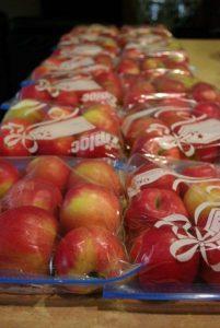 Зип-пакеты с яблоками