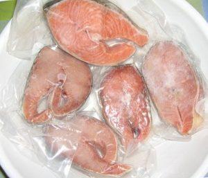 Рыба в зип-пакетах