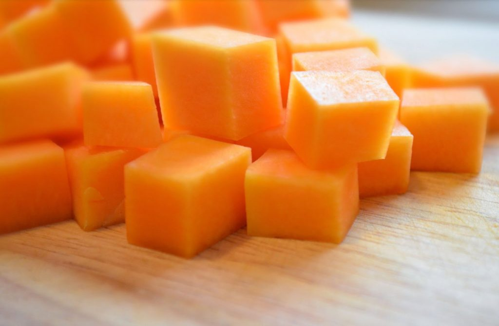 Кубики тыквы