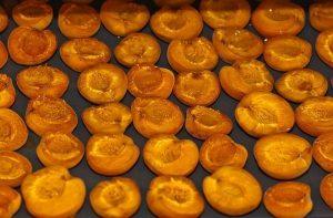 Сушение абрикос